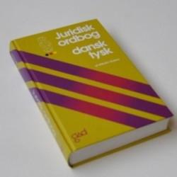Juridisk ordbog - dansk / tysk