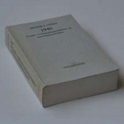 1940 Studier i forhandlingspolitiken og samarbejdspolitikken