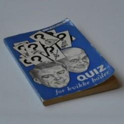 Quiz for kvikke ho'der - 9. samling