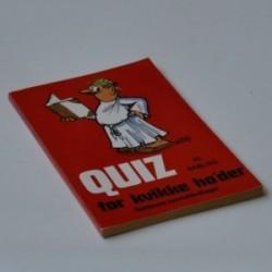 Quiz for kvikke ho'der - 25. samling