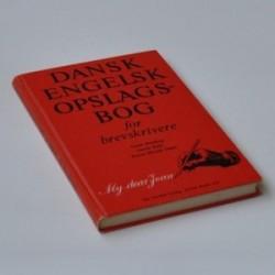 Dansk-Engelsk Opslagsbog for brevskrivere