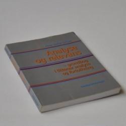Analyse og relevans - grundbog i litterær analyse og fortolkning