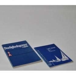Duelighedsprøver i sejlads + opgavebog med facitliste til duelighedsbogen