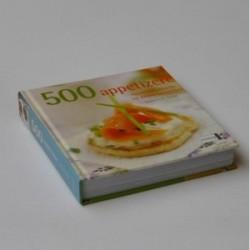 500 appetizere - foretter, snacks og andre småretter