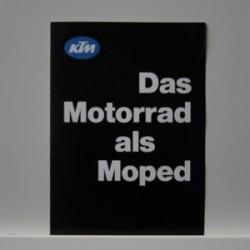 Das neue KTM-Comet 504 Super - KTM Das Motorrad als Moped