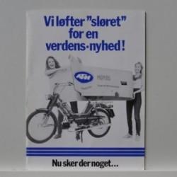 """KTM Mopeds- Foxi models - Vi løfter """"sløret"""" for en verdens-nyhed!"""