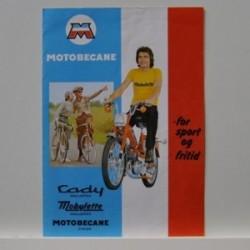 Motobecane - Cady knallerter. Mobylette knallerter, Motobecane cykler