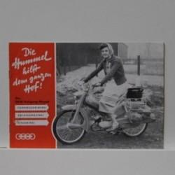DKW-Dreigang-Moped - Die Hummel hilft dem ganzen Hof