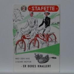 BFC Stafette- Med den nye 2-gears Motor- Dame- og Herre model