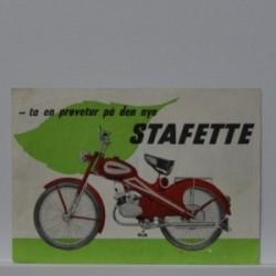 BFC Stafette ta en prøvetur på den nye Stafette