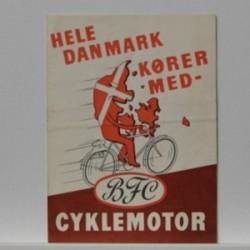 BFC- Hele Danmark kører med- Cyklemotor