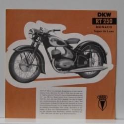 DKW RT 250 Monaco de Luxe
