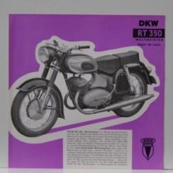 DKW RT 350 Weltmeister  Super de Luxe