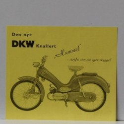 DKW Hummel - Den nye DKW Knallert Hummel - støjfri som sin egen skygge!
