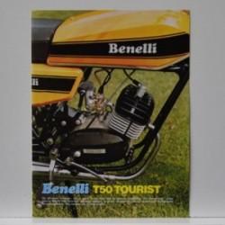 Benelli T50 Tourist - De sportieve brommer