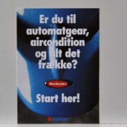Suzuki - Er du til automatgear, aircondition og alt det frække? Start her! Model Address, Suzi