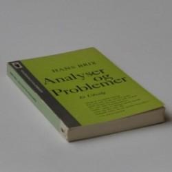 Analyser og problemer - et udvalg