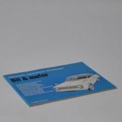 Hjemmets reparations-håndbøger - Bil & motor