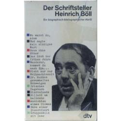 Der Schriftsteller Heinrich Böll