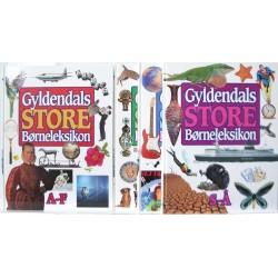 Gyldendals Store Børneleksikon. Bind 1-4.