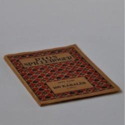 Pios spillebøger - 100 kabaler og kortopgaver for 1,2,3, og 4 spil kort