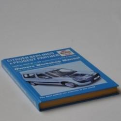 Citroën Berlingo og Peugeot Partner - Owners Workshop Manual