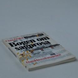 Bogen om sagprosa