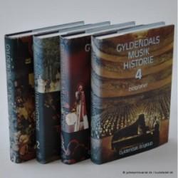 Gyldendals musikhistorie 1-4