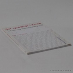 Det sproglige i dansk - tekster og arbejdsspørgsmål