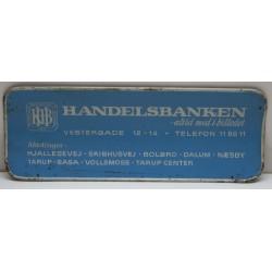 HANDELSBANKEN - SPORVOGNSSKILT