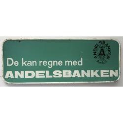 ANDELSBANKEN - SPORVOGNSSKILT