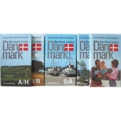 Lademanns rejseleksikon – Danmark. Bind 1-5.