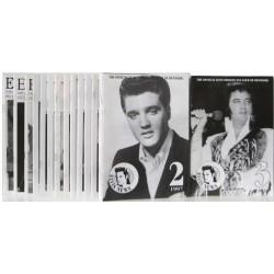 Elvis News 1993-1997. I alt 22 hæfter.