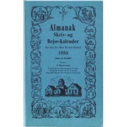 Almanak. Skriv- og Rejse-kalender