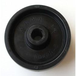 Nylon hjul - 80 x 30 mm