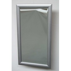 Spejl - facetslebet med sølvramme