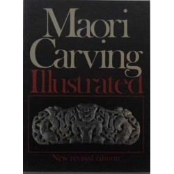 Maori carving. Illustrated.