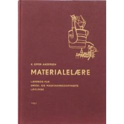 Jern- og metalindustriens materialer. Lærebog for smede- og maskinarbejderfagets lærlinge.