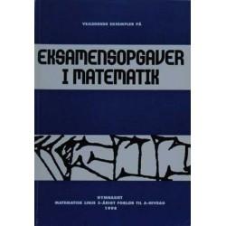 Vejledende eksempler på eksamensopgaver i matematik.