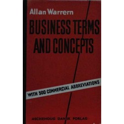 Business Terms and Concepts