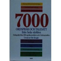 7000 ordspråk och talesätt från hela världen