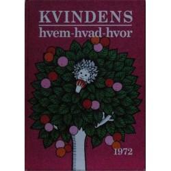 Kvindens Hvem-Hvad-Hvor 1972. 21. Årgang.