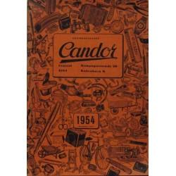 Candor katalog 1954.