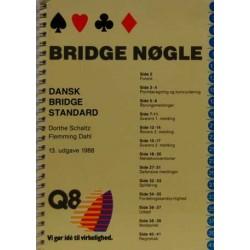 Bridge nøgle. Dansk bridge standard