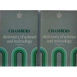 Chambers dictionary of science and technology 1-2