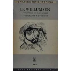 Grafisk orientering. J. F. Willumsen. Litografier og raderinger.