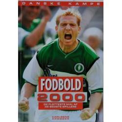 Danske kampe. Fodbold 2000.