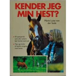 Kender jeg min hest