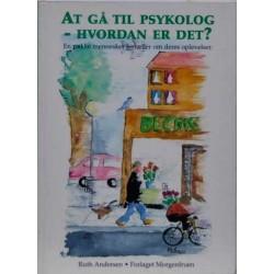 At gå til psykolog –hvordan er det?