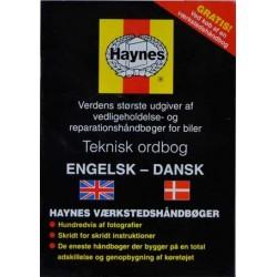 Haynes Teknisk ordbog. Engelsk-dansk
